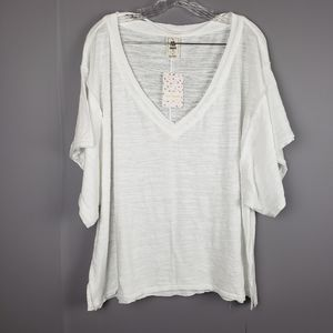 Free People we the free my boyfriends tee oversize